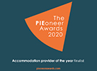 Pioneer Awards Accommodation provider of the year finalist