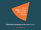 Pioneer Awards Marketing Campaign of the year finalist