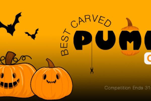 A Spook-tacular Pumpkin!